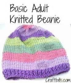 Basic adults knitted beanie allfreeknitting com