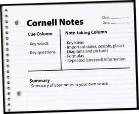 Best Note Taking Template by Is The Cornell Note Taking Template Really The Best Learn U
