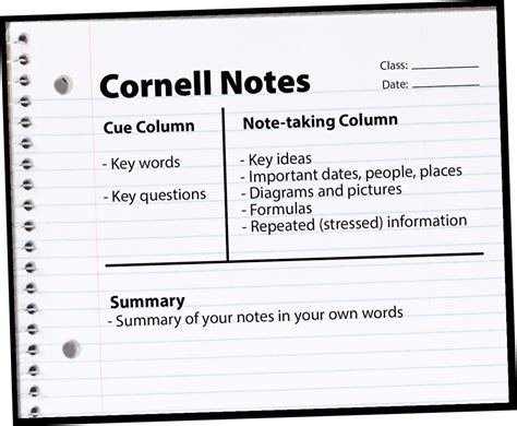 best note taking template is the cornell note taking template really the best learn u