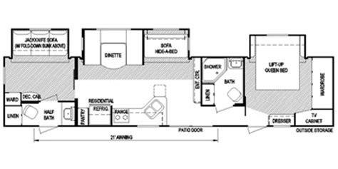 layton rv floor plans 2014 layton m 381 specs and standard equipment nadaguides
