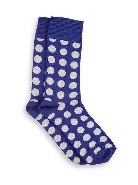 Polka Socks buy cheapo polka dot socks for s blue white