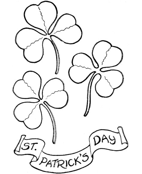 Printable St Patricks Day Coloring Pages Coloring Home Patricks Day Coloring Pages