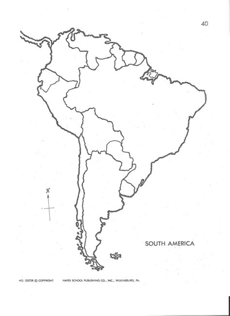 South And America Map Outline by Free Coloring Pages Of South America Blank Map