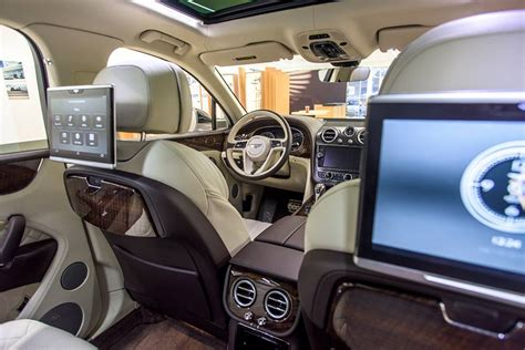 bentley bentayga 2016 interior bentley bentayga