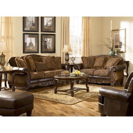 ashley fresco durablend antique sofa durablend sofa ashley furniture fresco durablend antique