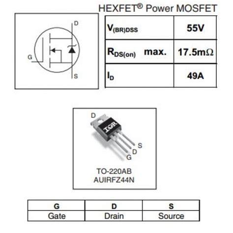 transistor irfz44n equivalent transistor equivalent irfz44n 28 images irfz44n datasheet pdf inchange semiconductor company