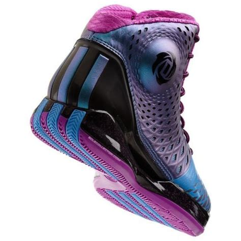 pink and purple basketball shoes adidas derrick d 3 5 black blue pink purple