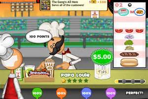 Papa louie games papa s hot doggeria papa louie 3