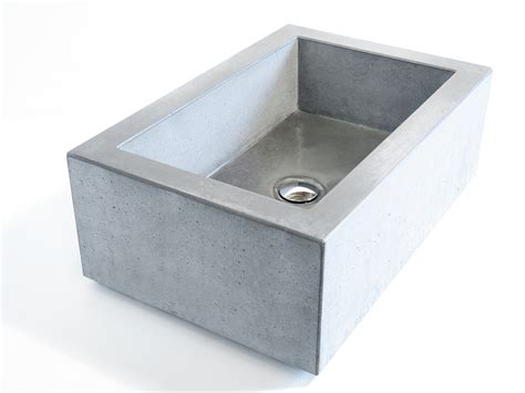 Design Bathroom waschbecken aus beton nach mass wertwerke