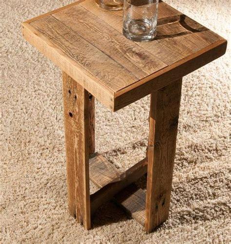 pallet end table diy pallet end table or side table wooden pallet furniture