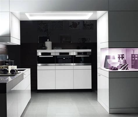 contemporary kitchen ideas 2014 hermosas cocinas en color blanco y negro
