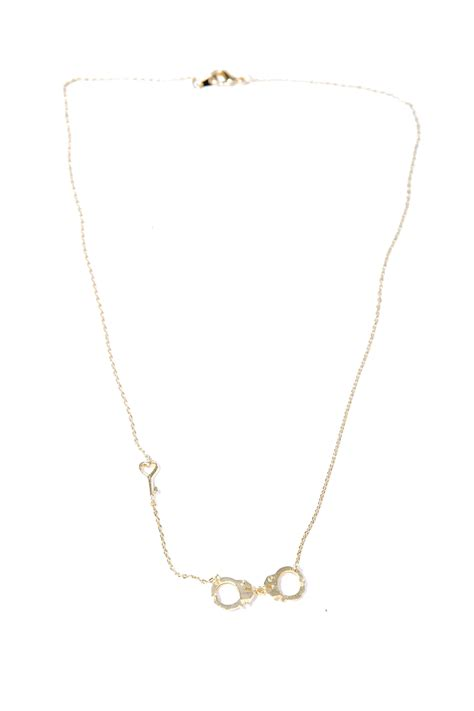 green handcuff necklace from bastille by corner des