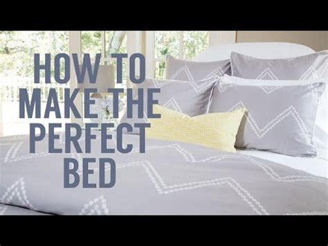 how to make the perfect bed rue how to diys