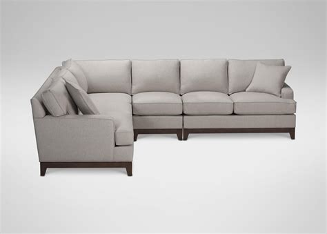 four piece sectional sofa arcata four piece sectional quick ship sectionals