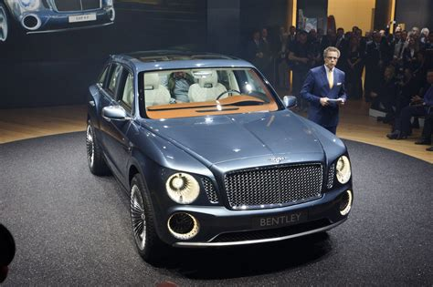 Bentley Releases First Photo Of Production Suv Will