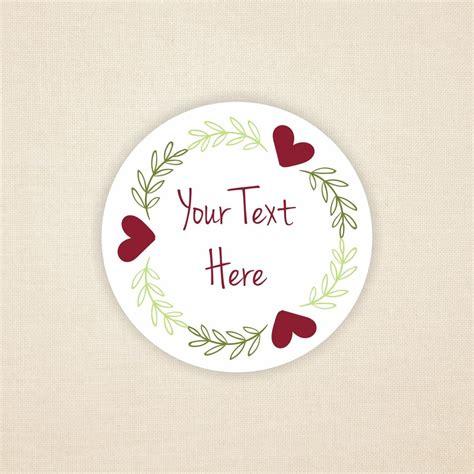 floral sticker design add   text