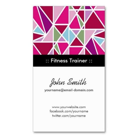 Fitness Instructor Business Card Templates by 283 Best Images About Fitness Trainer Business Cards On