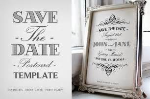 Free Save The Date Template by Save The Date Postcard Template V 1 Invitation Templates