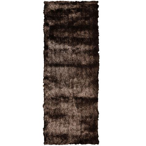so silky rug home decorators collection so silky sand 2 ft x 10 ft area rug silky210sd the home depot