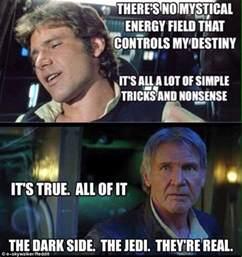 Han Solo Meme - star wars the force awakens trailer sends social media