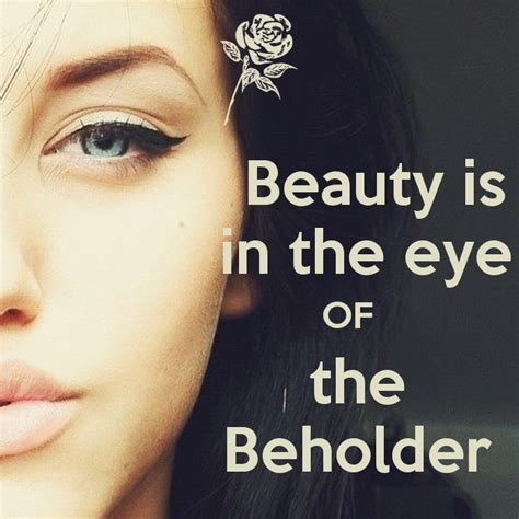 is in the eye of the beholder poster jmk keep