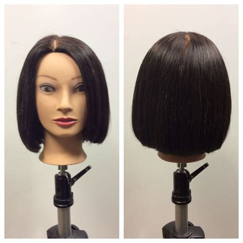 hair cut between ear and shoulder over the shoulder haircut and denman brush blowout my