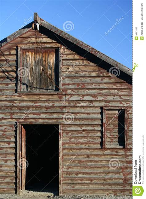 Barn Loft And Pulley 2 Stock Image Image Of Black Barn Door Pulley