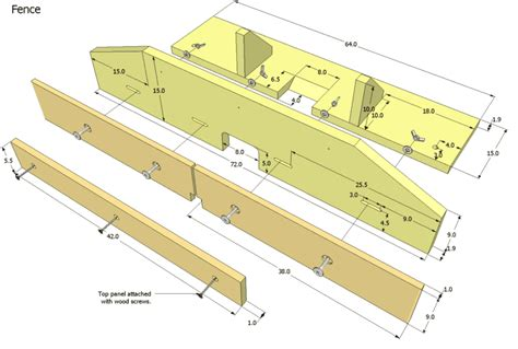 table saw fence plans router table plans