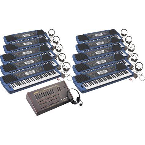 Suzuki Keyboards Suzuki 10 Student Sp 47 Keyboard Lab Musician S Friend