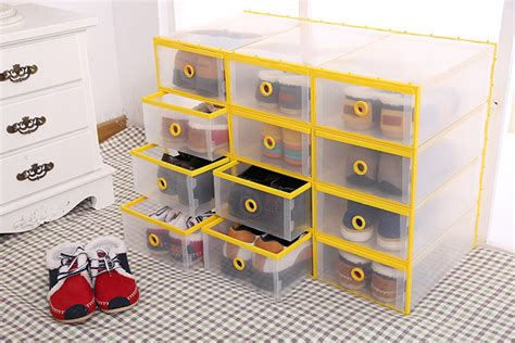mens shoe racks storage shoe organizer new style plastic clear shoe