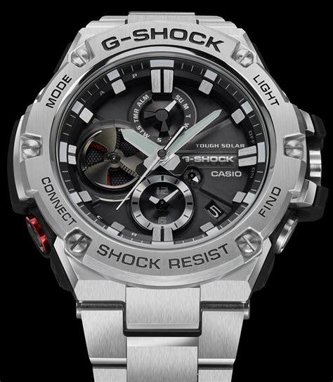 Casio G Shock Gst B100 by Casio G Shock G Steel Tough Chronograph Gst B100 Series