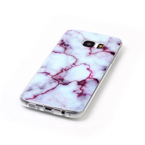Marble For Samsung S7 Edge granite design marble soft tpu cover for samsung galaxy s8 plus s6 s7 edge