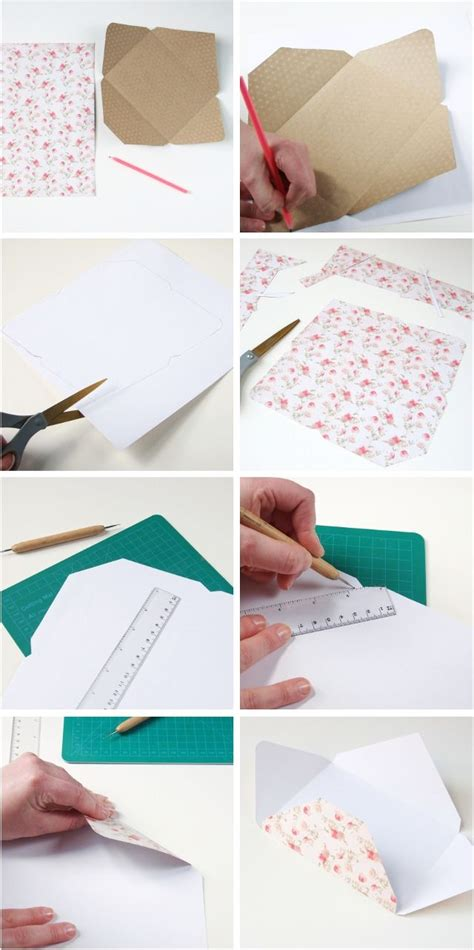 How To Make Your Own Scrapbook Paper - 25 best ideas about paper envelopes on