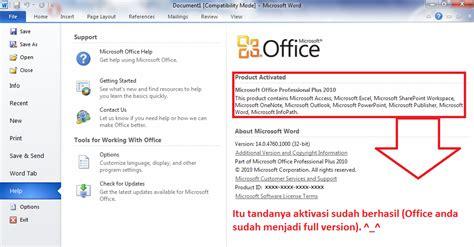 bagas31 office 2010 cara aktivasi office 2010 dengan crack