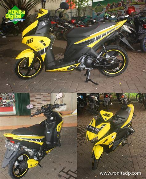 Stiker Helm Gaul by Tempat Modifikasi Warna Motor Gaul Di Tangerang Selatan