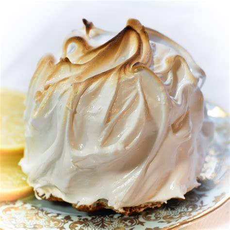 a cook s view recipe meringue encrusted lemon cakes the cookbook challenge week 2