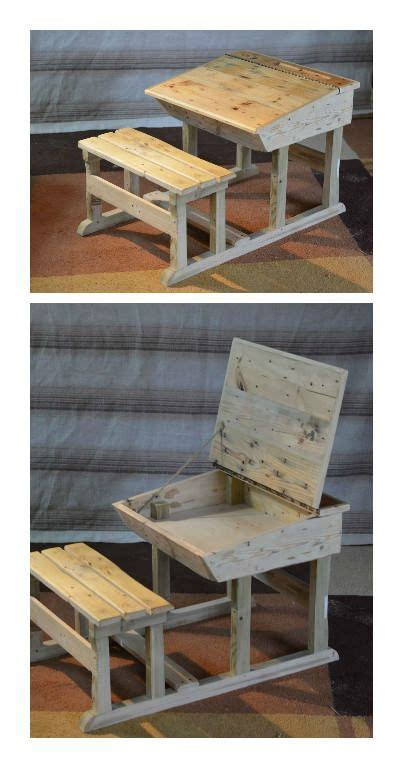 recycled pallets and 2 ikea lacks made an awesome rustic 17 best ideas about childrens desk on pinterest ikea