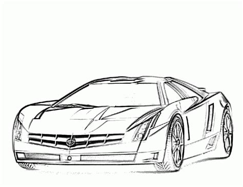 fast car coloring pages coloring home