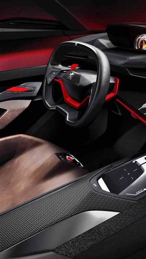 peugeot quartz interior wallpaper peugeot quartz concept interior supercar