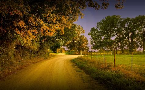 country wall country road wallpaper 14955