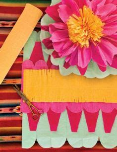 How To Make A Mexican Paper Flower - 1000 ideas about mexican paper flowers on