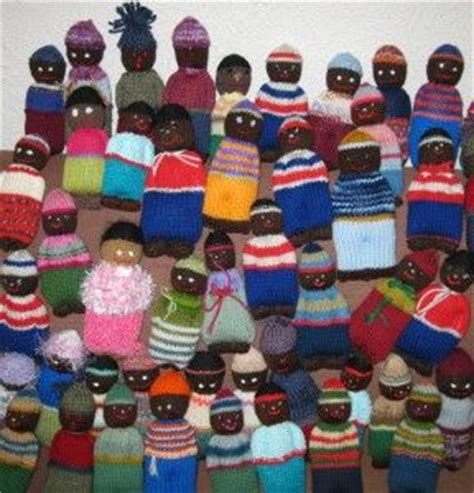 knitting for charity africa 1000 images about duduza dolls on free