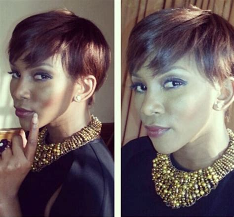 jenevive nnaji hair styles genevieve nnaji tries new hairstyle