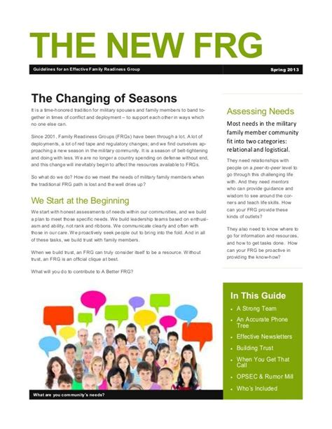 Army Frg Newsletter Template Army Frg Newsletter Template