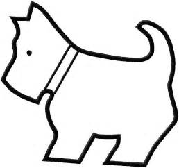 Simple Outline Of A by Best Photos Of Puppy Outlines To Print Outlines Printable Paw Print Outline And