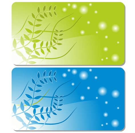 business card background free templates floral business card template vector 123freevectors