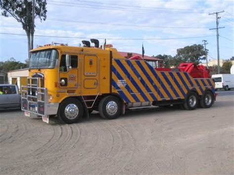 kenworth truck wreckers australia kenworth ekebol australia big wreckers pinterest