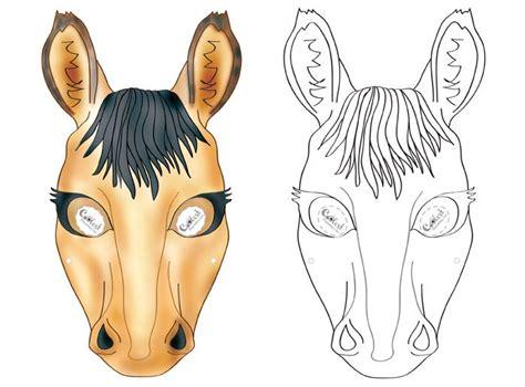 printable mask horse printable horse mask coolest free printables maski