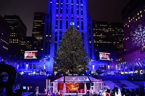 rockefeller center christmas tree lighting 2016 where to