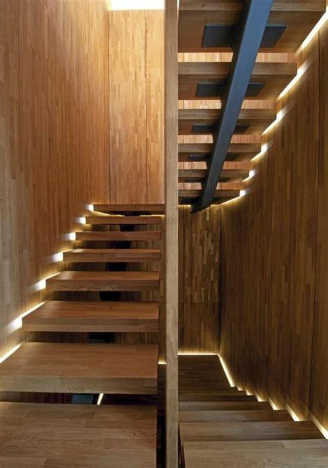 treppenstufen beleuchtung led 43 photospour fabriquer un escalier en bois sans efforts